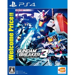 PS4 ガンダムブレイカー3 Welcome Price!!