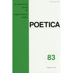 POETICA An International Journal of Linguistic‐Literary Studies 83