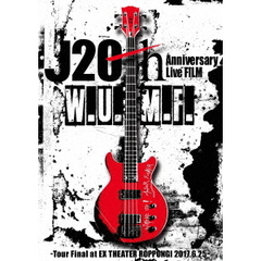J/J 20th Anniversary Live FILM [W.U.M.F.] -Tour Final at EX THEATER ROPPONGI 2017.6.25-(Blu-ray Disc)