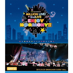 THE IDOLM@STER MILLION LIVE! 2ndLIVE ENJOY H@RMONY !! LIVE Blu-ray DAY 2(Blu-ray Disc)