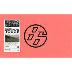 TOYOTA 86 1st ANNIVERSARY BOOK TOUGE & TOUGE CD & 86 TOTE BAG