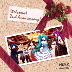 MOER feat.初音ミク ?2nd anniversary?