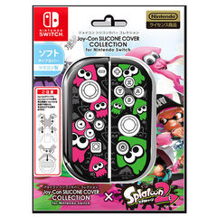 Joy-Con SILICONE COVER COLLECTION for Nintendo Switch(splatoon2)Type-B