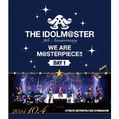 THE IDOLM@STER 9th ANNIVERSARY WE ARE M@STERPIECE!! Blu-ray Day 1(Blu-ray Disc)