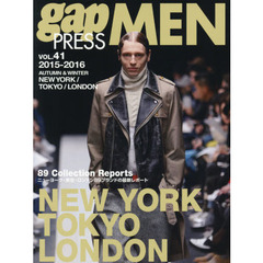 gap PRESS MEN vol.41(2015?2016Autumn & Winter)