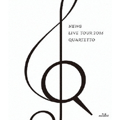 NEWS/NEWS LIVE TOUR 2016 QUARTETTO Blu-ray 通常盤(Blu-ray Disc)