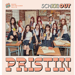 PRISTIN/2ND MINI ALBUM : SCHXXL OUT (OUT VER.)(輸入盤)