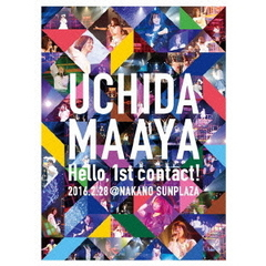 内田真礼/UCHIDA MAAYA 1st LIVE 『Hello, 1st contact !』(Blu-ray Disc)