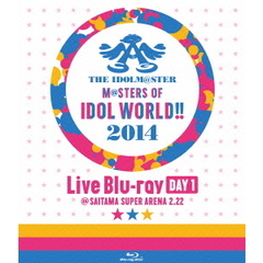 THE IDOLM@STER M@STERS OF IDOL WORLD !! 2014 Day 1(Blu-ray Disc)