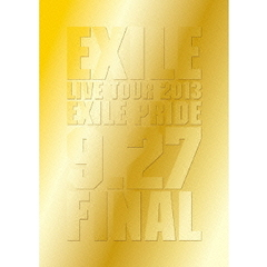"EXILE LIVE TOUR 2013""EXILE PRIDE""9.27 FINAL[RZXD-59586/7][Blu-ray/ブルーレイ]"