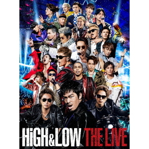 HiGH & LOW THE LIVE<豪華盤>3DVD(スマプラ対応)<ポスター特典無し>