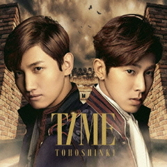 TIME(初回盤)(東方神起フェア限定B2ポスター付き)