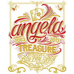 angela/angela TREASURE Blu-ray BOX <完全限定生産版>(Blu-ray Disc)