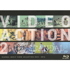 SCANDAL/VIDEO ACTION 2(Blu?ray Disc)