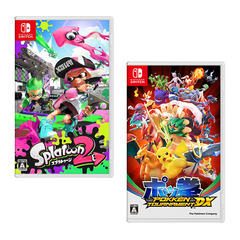 Nintendo Switch 「スプラトゥーン2」&「ポッ拳 POKKEN TOURNAMENT DX」