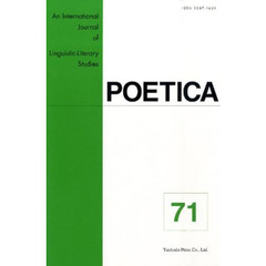 POETICA An International Journal of Linguistic-Literary Studies 71