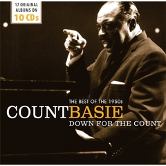 COUNT BASIE/DOWN FOR THE COUNT : BEST OF THE 1950's(10枚組)(輸入盤)