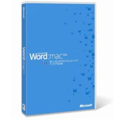Word for Mac 2011 日本語版 (PCソフト)