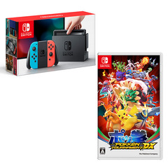 「Nintendo Switch 本体 ネオン」&「ポッ拳 POKKEN TOURNAMENT DX」