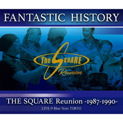 "THE SQUARE Reunion/""FANTASTIC HISTORY"" THE SQUARE Reunion 1987-1990 LIVE @Blue Note TOKYO(Blu-ray Disc)"