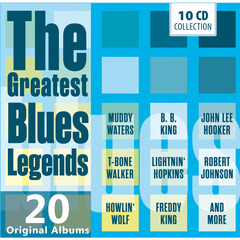 GREATEST BLUES LEGENDS(10枚組)(輸入盤)