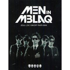 MEN IN MBLAQ 2011 LIVE CONCERT PHOTO BOOK