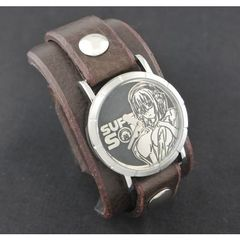 すーぱーそに子 X red monkey designs  Collaboration Wristwatch(Chocolate/通常版)
