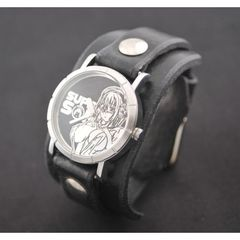すーぱーそに子 X red monkey designs  Collaboration Wristwatch (Black/通常版)
