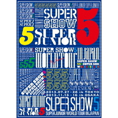 SUPER JUNIOR/SUPER JUNIOR WORLD TOUR SUPER SHOW5 in JAPAN 初回限定盤
