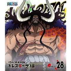 ONE PIECE ワンピース 17th SEASON ドレスローザ編 piece.28(Blu-ray Disc)