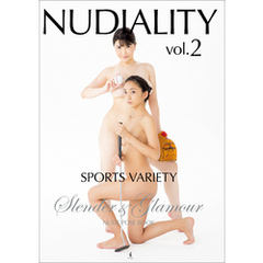 『NUDIALITY vol.2』 - Slender & Glamour SPORTS VARIETY NUDE POSE BOOK -