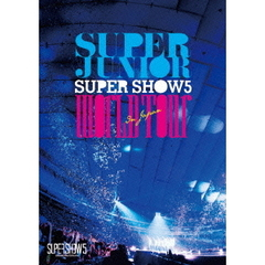 SUPER JUNIOR/SUPER JUNIOR WORLD TOUR SUPER SHOW5 in JAPAN 通常版
