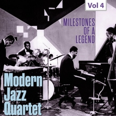 MODERN JAZZ QUARTET/MILESTONES OF A LEGEND(10枚組)(輸入盤)
