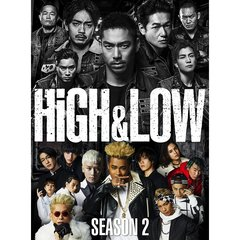 HiGH & LOW SEASON2 完全版BOX[RZBD-86188/91][DVD] 製品画像