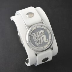 原由実 × Red Monkey Designs Collaboration Wristwatch MEN'S/WHITE