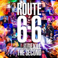 "EXILE THE SECOND LIVE TOUR 2017-2018""ROUTE6・6""(初回生産限定盤)[RZBD-86571/2][DVD]"