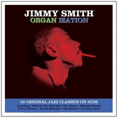 JIMMY SMITH/ORGAN IZATION(3枚組)(輸入盤)