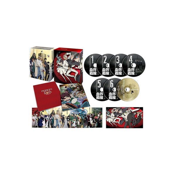 血界戦線 Blu-ray BOX<セブンネット限定特典オリジナルクッション付き>(Blu-ray Disc)