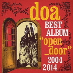 "doa BEST ALBUM""open_door""2004-2014(初回限定盤)"