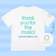 ROCKETMAN SUMMER FES'2016 Tシャツ/ホワイト/S