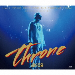 HALL TOUR 2015 FOR THE THRONE FINAL-COMPLETE EDITION-(Blu-ray付)