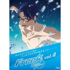 Free! -Eternal Summer- 4(Blu-ray Disc)