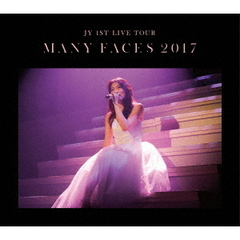 "JY/JY 1st LIVE TOUR ""Many Faces 2017"" 初回生産限定版(Blu-ray Disc)"