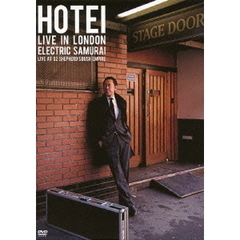 HOTEI LIVE IN LONDON Electric Samurai -Live at 02 Shepherd's Bush Empire-[TYBT-10020][DVD]