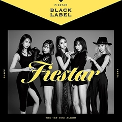 FIESTAR/1ST MINI ALBUM : BLACK LABEL(輸入盤)