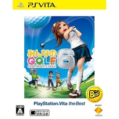 PSVita みんなのGOLF 6PlayStationVita the Best