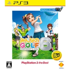 PS3 みんなのGOLF 6PlayStation3 the Best