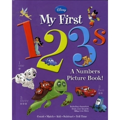 【洋書】Disney My First 1,2,3s