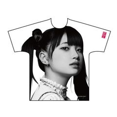 The Idol Formerly Known As LADYBABY/オーバープリントTシャツ 黒宮れい Mサイズ