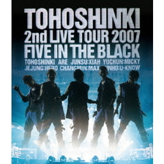 Blu-ray Disc「東方神起 2nd LIVE TOUR 2007 〜Five in The Black〜」[RZXD-46737][Blu-ray/ブルーレイ]
